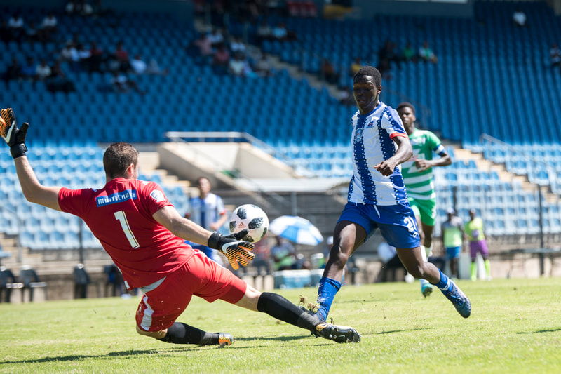 Maritzburg United vs AmaZulu in the Multichoice Diski Shield at the Harry Gwala Stadium. Photo: BOOGS Photography / Andrew Mc Fadden