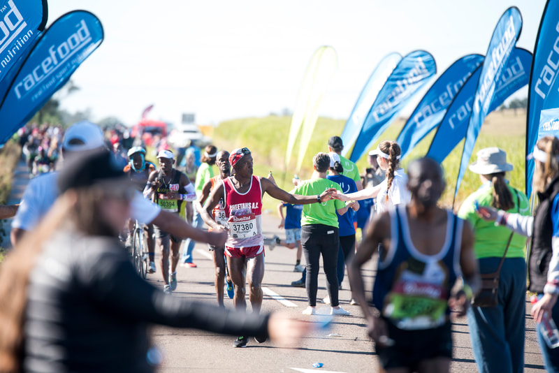 during the 2019 Comrades Marathon that took place on 9 June 2019. Image: © BOOGS Photography / Andrew Mc Fadden