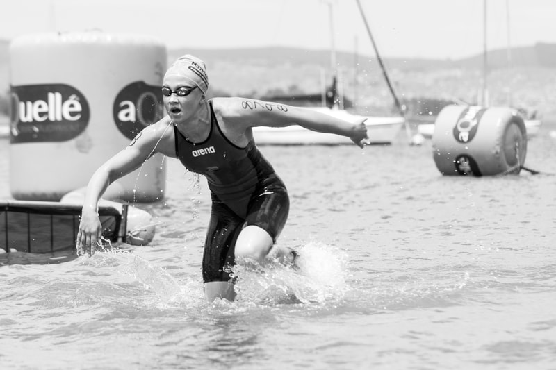 Moments at the 2016 Aquelle Midmar Mile, hosted at Midmar Dam. Photo: ©BOOGS Photography/Andrew Mc Fadden