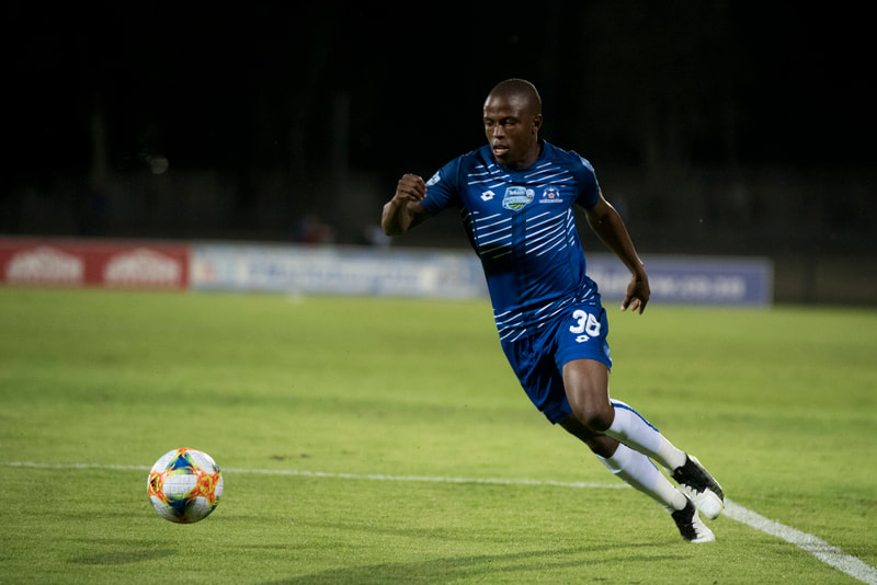 During the Telkom Knockout fixture between Maritzburg United and Highlands Park that took place on the 1st of November at Harry Gwala Stadium in Pietermaritzburg. Image: BOOGS Photography / Andrew Mc Fadden