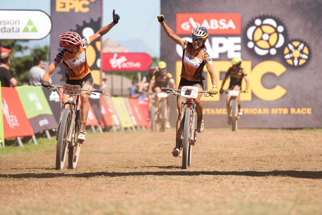 ABSA Cape Epic image on #MondayMotivation . Photo: BOOGS Photography / Andrew Mc Fadden
