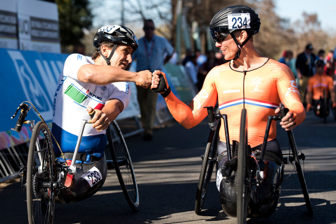UCI Para Cycling World Champs Images of #MotivationMonday. Image: BOOGS Photography / Andrew Mc Fadden