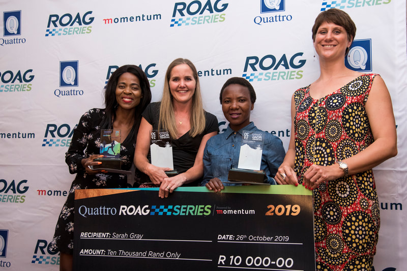 During the the 2019 ROAG Series Awards dinner, hosted at The Hilton Bush Lodge on the 26th of October 2019. Image: BOOGS Photography / Andrew Mc Fadden