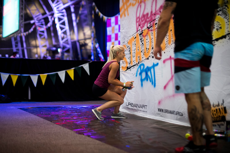 Athletes during the Jump City Challenge, Stadium Dash that started and finished at the famous Dome at Suncoast Casino in the heart of Durban. Image: BOOGS Photography / Andrew Mc Fadden