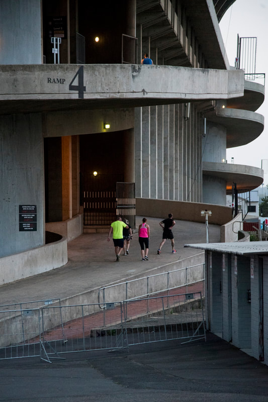 The Jump City Stadium Dash event recently made use of the Iconic Shark tank, Kings Park Stadium in the heart of Durban. Image: BOOGS Photography / Andrew Mc Fadden