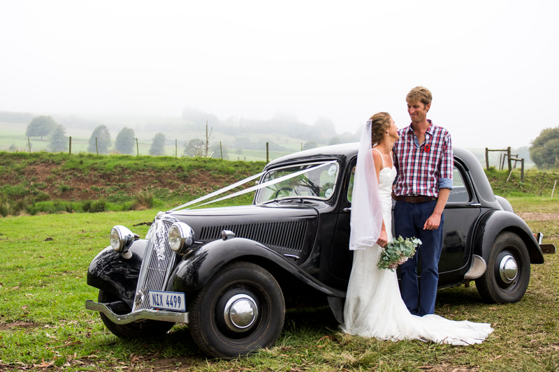 Andrew and Kerryn Pooler's wedding Throttle Thursday. Image: BOOGS Photography / Andrew Mc Fadden