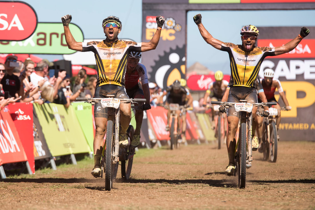 ABSA Cape Epic during #ThrowBackThursday . Image: BOOGS Photography / Andrew Mc Fadden