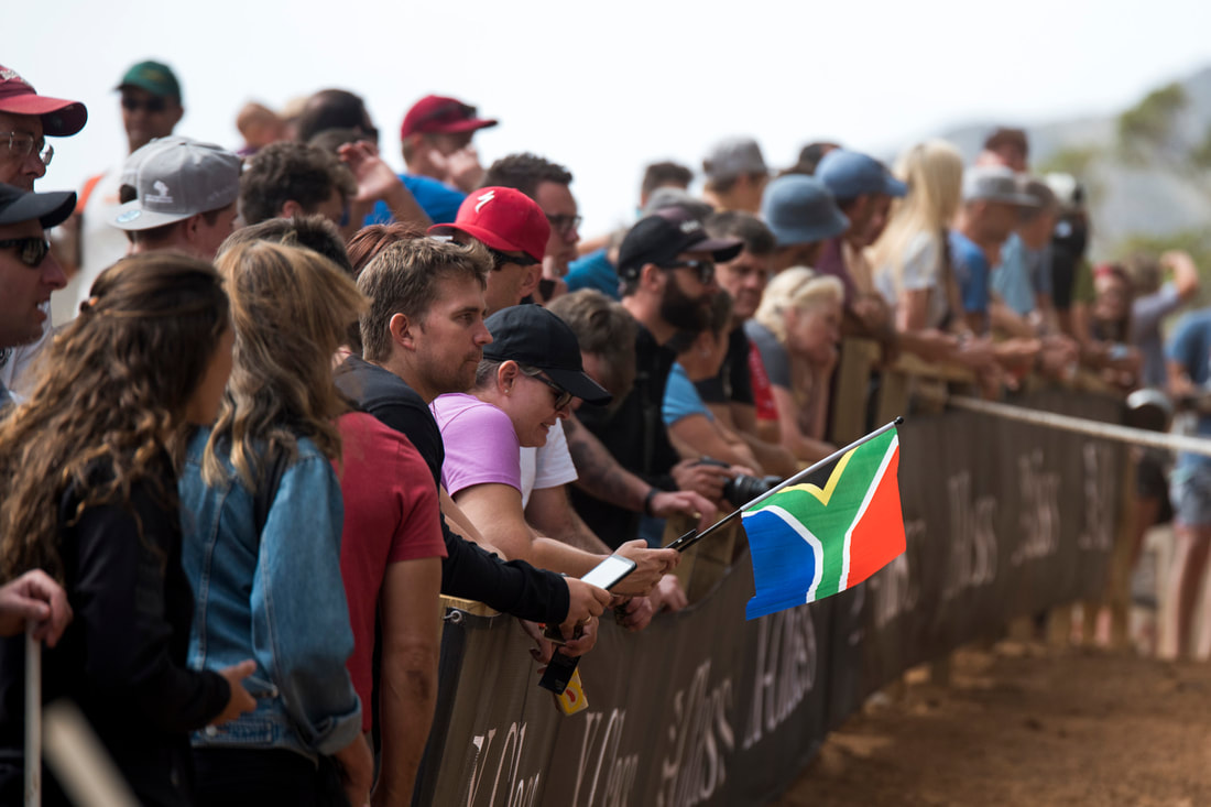 South African Flag - Travel Tuesday - BOOGS Photography / Andrew Mc Fadden