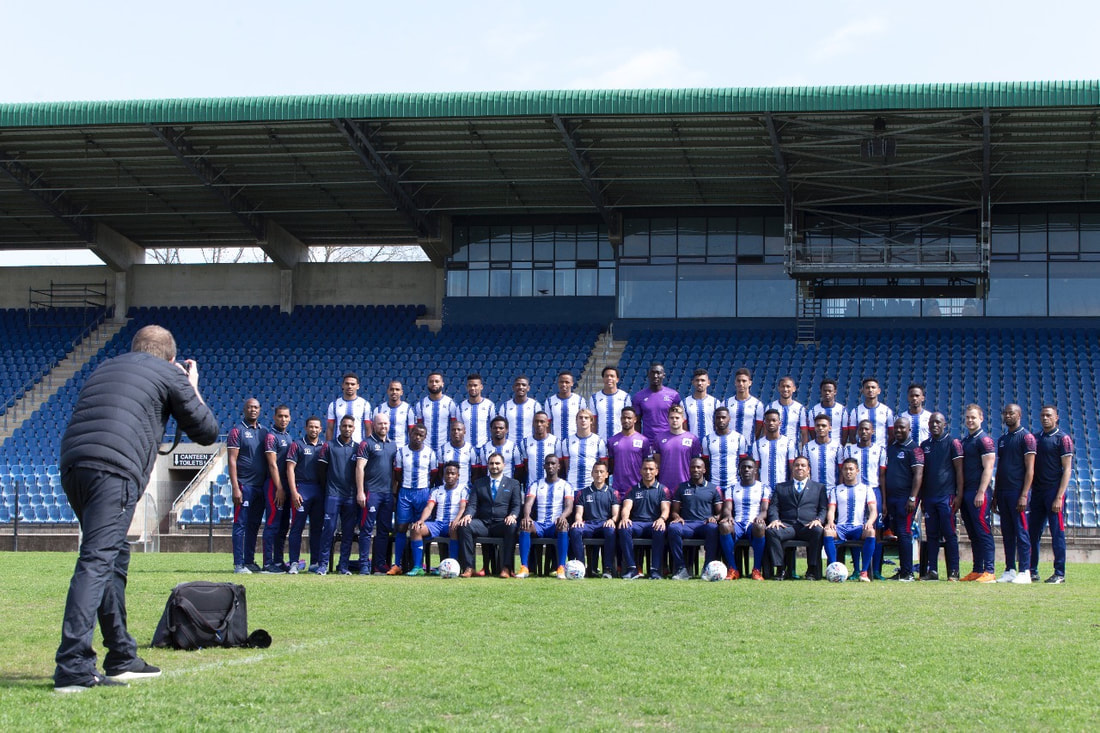 BOOGS Photography and Maritzburg United image of #WorkPlaceWednesday.