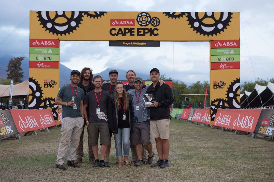 BOOGS Photography and the Absa Cape Epic image of #WorkPlaceWednesday.